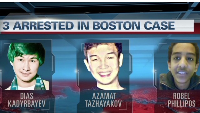 3 accused of Boston bombing cover-up
