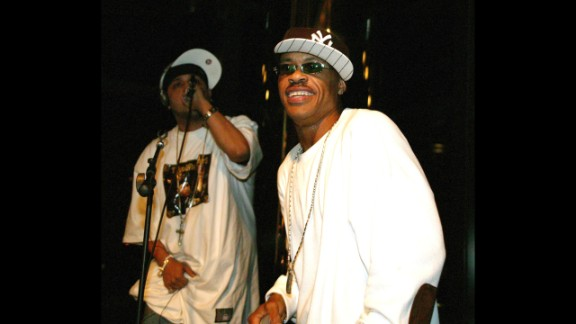 Gang Starr was known for their prolific and profound lyrics. In 2010, founding member Guru, at right with DJ Doo Wop in 2005, died of cancer.