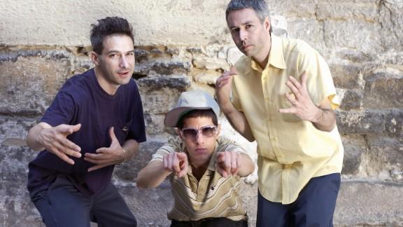 Adam Horovitz, Michael Diamond andAdam Yauch in 2004