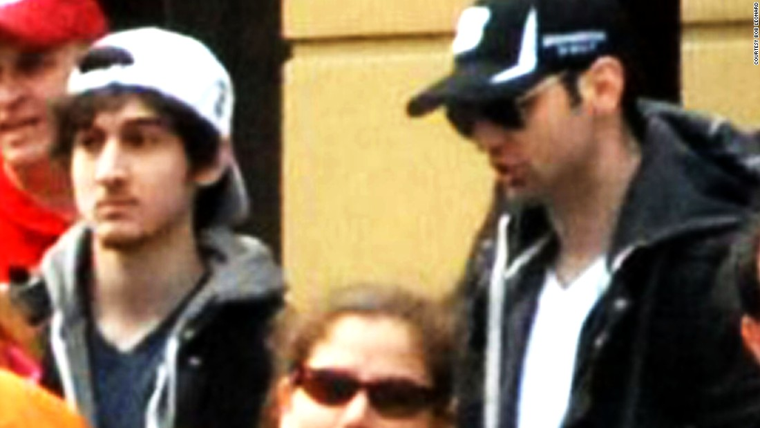 "Two radicalized brothers, Dzhokhar and Tamerlan Tsarnaev, set off bombs near the finish line of the Boston Marathon in April 2013. Tamerlan Tsarnaev, right, was later killed in a gunbattle with police. Dzohkar, wearing the backward hat, <a href=""http://www.cnn.com/2015/04/08/us/boston-marathon-bombing-trial/"" target=""_blank"">was convicted on 30 criminal charges and sentenced to death.</a> He is in prison awaiting appeals."
