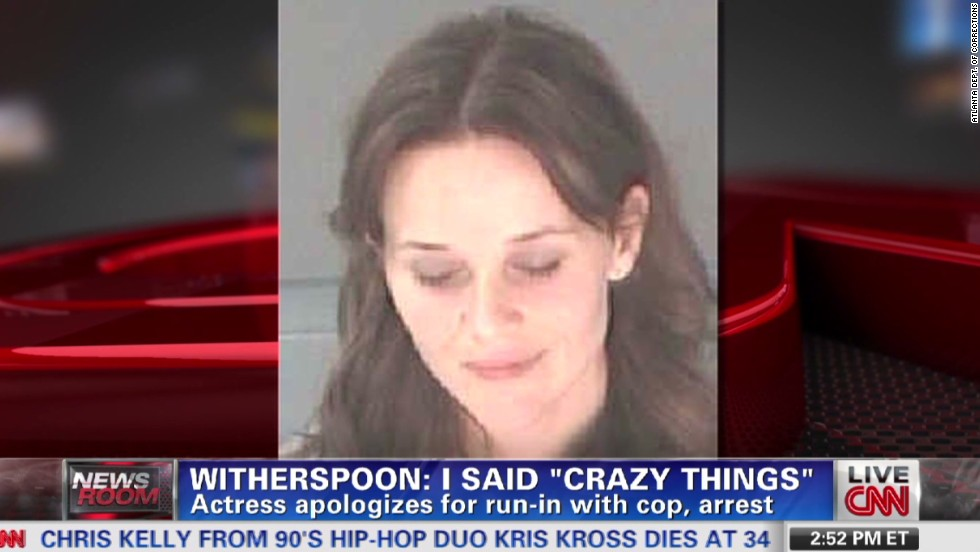 Image result for reese witherspoon arrest
