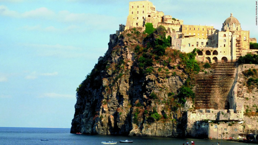 The Aragonese Castle clinging to the clifftop is one of Ischia's impressive sights. You can also find Roman thermal baths here, good diving and it counts limoncello, the delicious lemon liqueur, among its homegrown consumable items.