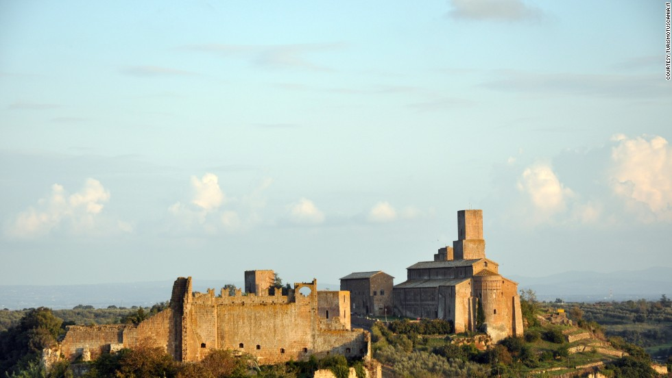"North of Rome, close to the border with Tuscany, is Tuscania -- a ""necropolis city"" where sarcophagi line the streets and tours are available to ancient tombs. The local cuisine is a high point, especially the fettuccine with wild boar."