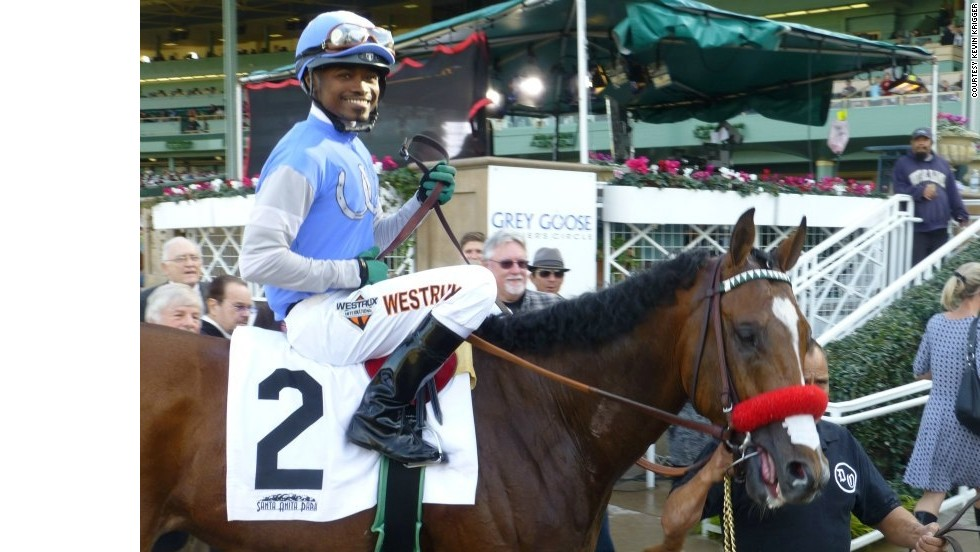 For jockey Kevin Krigger, the answer is simple: him. If successful, the 29-year-old from the Virgin Islands will be the first black man to win the race in 111 years. Regardless, he'll be the first African American rider to compete since Marlon St. Julien in 2000.