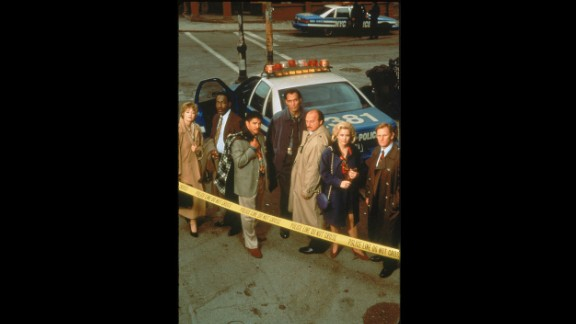 """""""NYPD Blue"""" (1993): Steven Bochco's gritty crime drama broke past established network limits for language and nudity -- and also paid attention to character."""