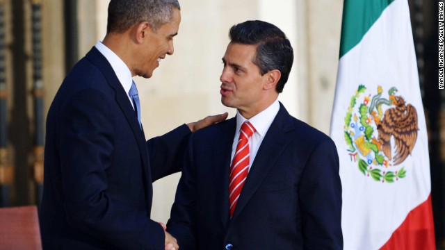 Obama 'impressed' by Mexican reform plan
