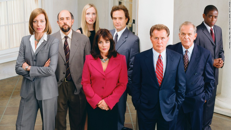 "Political drama ""The West Wing"" ran seven seasons from 1999 to 2006, drawing critical and popular acclaim. Though some debate the quality of the show after creator Aaron Sorkin's departure after season 4, the characters and dialogue kept audiences hooked, making it a strong candidate for reruns and binge-watching."