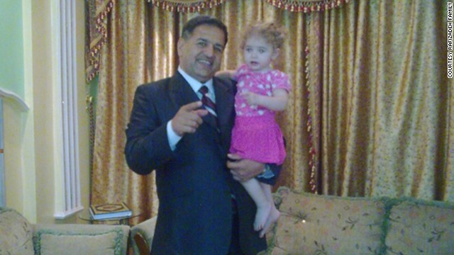 Ramiz Rafizadeh, left, was fatally shot in December while picking up his daughter from her school in Damascus.