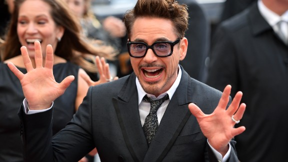 """Robert Downey Jr. at the premiere of """"Iron Man 3"""""""