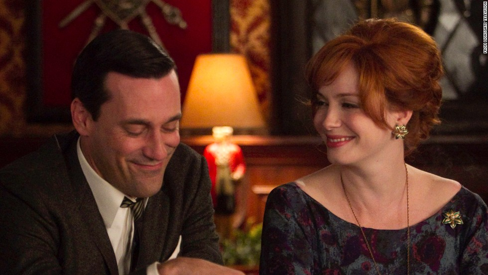 "<strong>""Mad Men"" season 7:  </strong>Jon Hamm and Christina Hendricks are back as stars in the very popular AMC series about a company of advertising men in the 1960s. <strong>(<strong></strong>Netflix) </strong>"