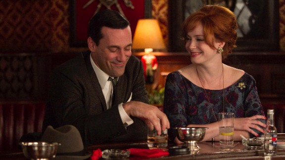 """""""Mad Men"""" (2007): The 1960s, as told from the perspective of a successful New York advertising firm, has had a lot to say about then -- and now."""