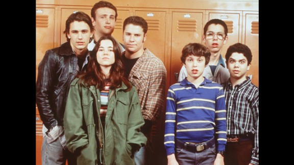 """""""Freaks and Geeks"""" (1999): Another series that got high school right and suffered in the ratings for it. Its cast, however -- including Seth Rogen, Linda Cardellini and James Franco -- has gone on to big things."""