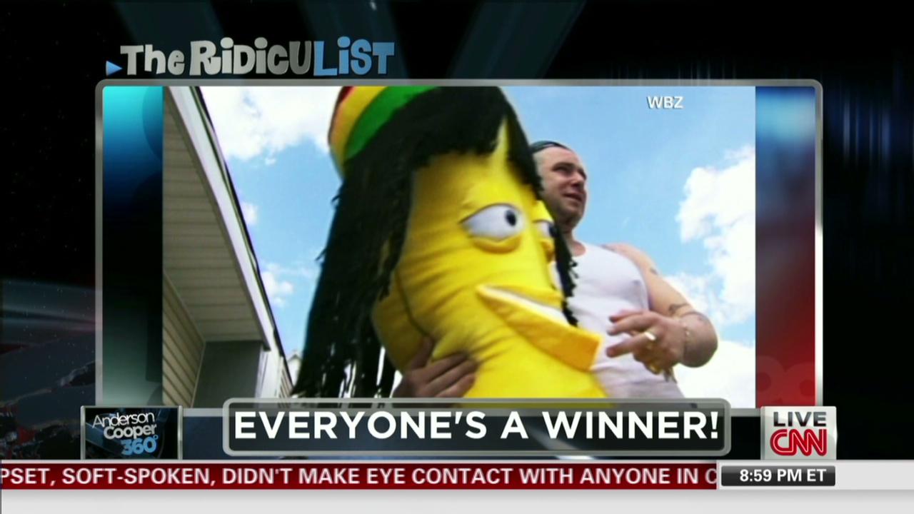 Man loses savings, wins rasta banana - CNN Video