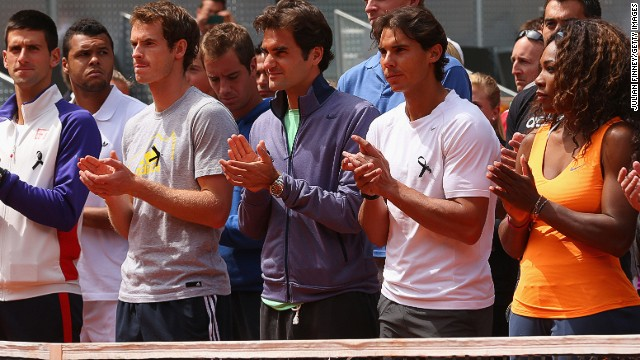 Tennis Stars Federer And Nadal Honor Drewett A Very Loved Man Cnn