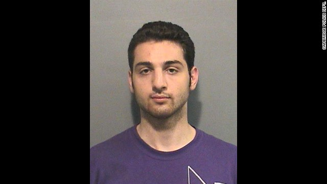 Tamerlan Tsarnaev in 2009 after his arrest on an assault charge