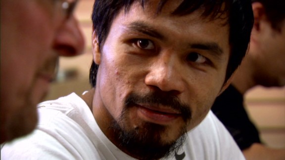"""Manny Pacquiao from the CNN documentary """"The Fighters."""""""