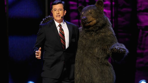 On May 18, Comedy Central host Stephen Colbert will speak at University of Virginia, his wife