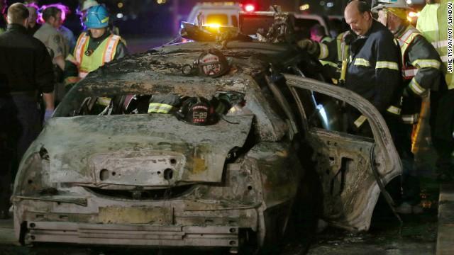 Fatal bachelorette limo fire over San Francisco Bay ruled an