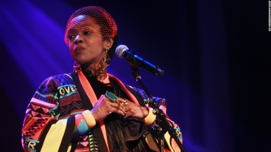 "In May 2016 Lauryn Hill <a href=""http://www.cnn.com/2016/05/09/entertainment/lauryn-hill-concert-controversies/index.html"">apologized to those who attended her concert at Chastain Park Amphitheater </a>in Atlanta, Georgia. Hill was two hours late and said<a href=""https://www.facebook.com/mslaurynhill/posts/1293754153985597"" target=""_blank""> on a Facebook posting</a> that ""The challenge is aligning my energy with the time, taking something that isn't easily classified or contained, and trying to make it available for others."""