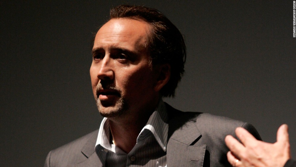 Actor Nicolas Cage revealed in 2010 that he owed $14 million in back taxes, which he has been working to pay off since. A federal tax lien said he owed $6.2 million from income in 2007.