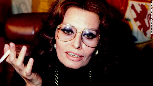 Close up of the italian actress Sofia Loren, 1979, Madrid, Spain. (Photo by Gianni Ferrari/Cover/Getty Images).