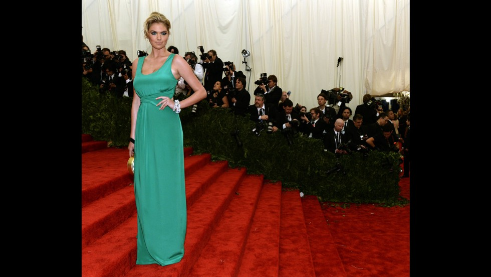 Model Kate Upton attends the gala.