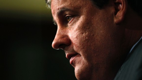 New Jersey Gov. Chris Christie has become a well-known face for the Republican party, but in his home state he's still the second-best-known Boss, next to Bruce Springsteen. Pictured above, Christie speaks at a news conference on October 4, 2011, in Trenton, the capital.
