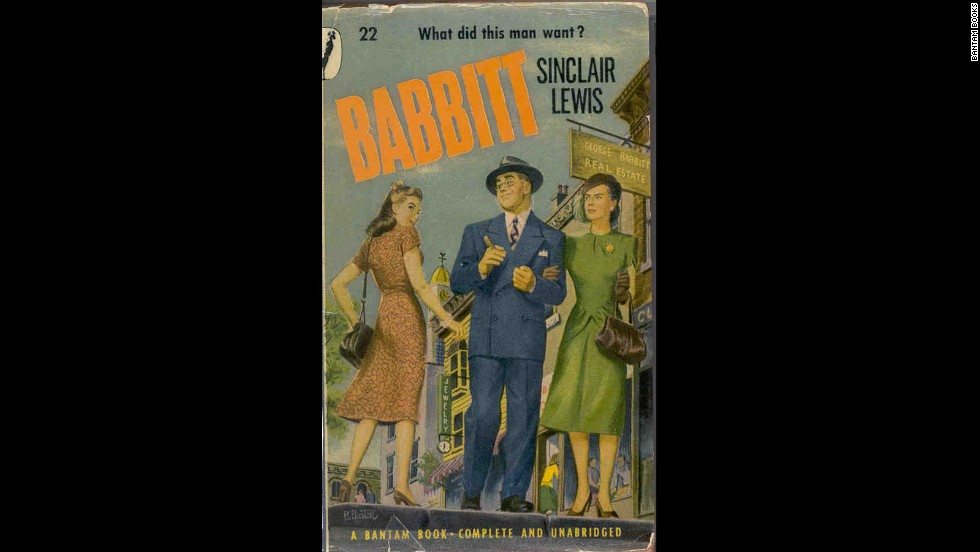 """Babbitt,"" Sinclair Lewis' 1922 character study of a Midwest businessman, was made into silent and sound films, but neither has stood the test of time."