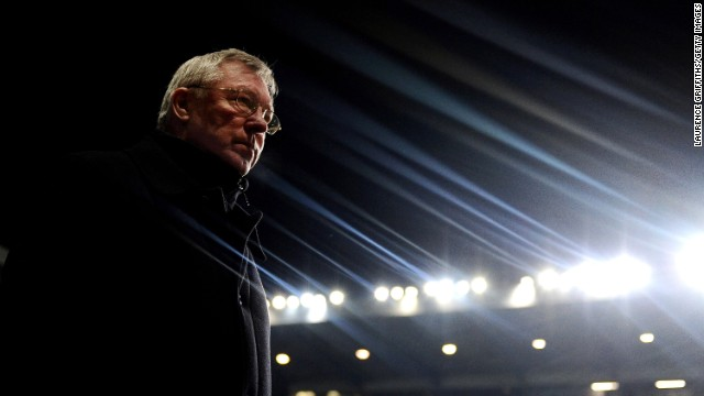 BIRMINGHAM, ENGLAND - FEBRUARY 10: Sir Alex Ferguson of Manchester United walks out during the Barclays Premier League match between Aston Villa and Manchester United at Villa Park on February 10, 2010 in Birmingham, England. (Photo by Laurence Griffiths/Getty Images)