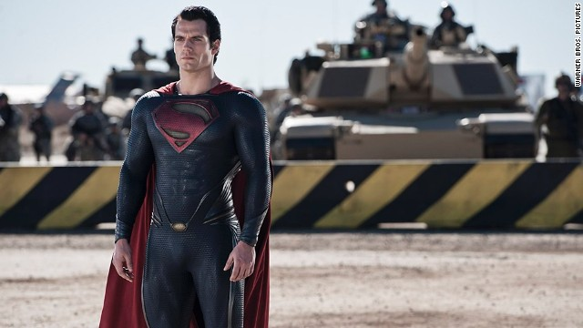 "Henry Cavill stars as Superman in ""Man of Steel,"" the latest telling of the superhero's story."