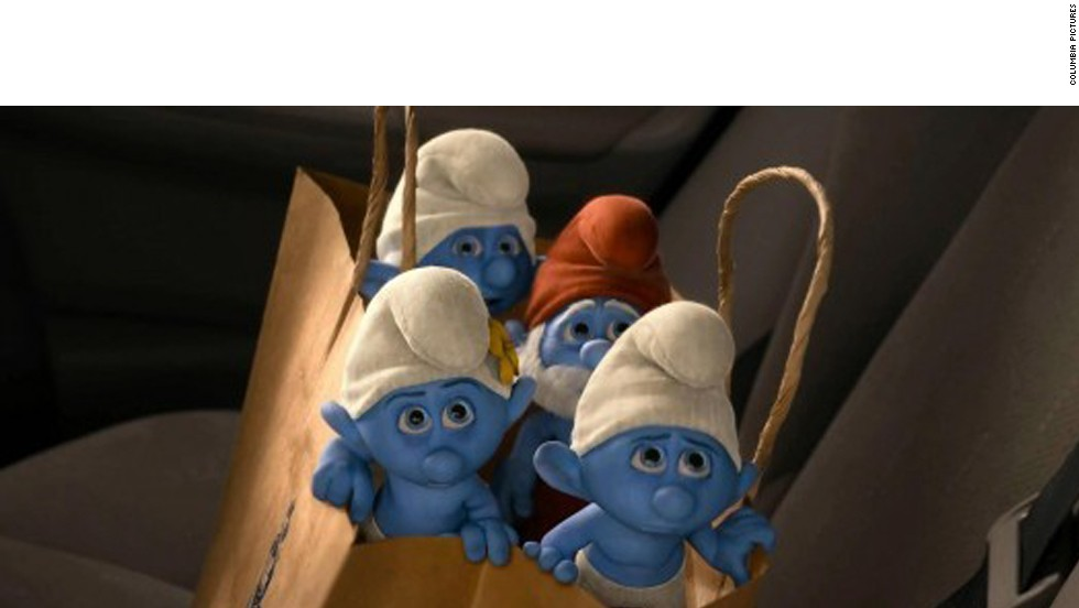 """The Smurfs 2"" barely cracked double-digits with critics, with a 12 on the Tomatometer."