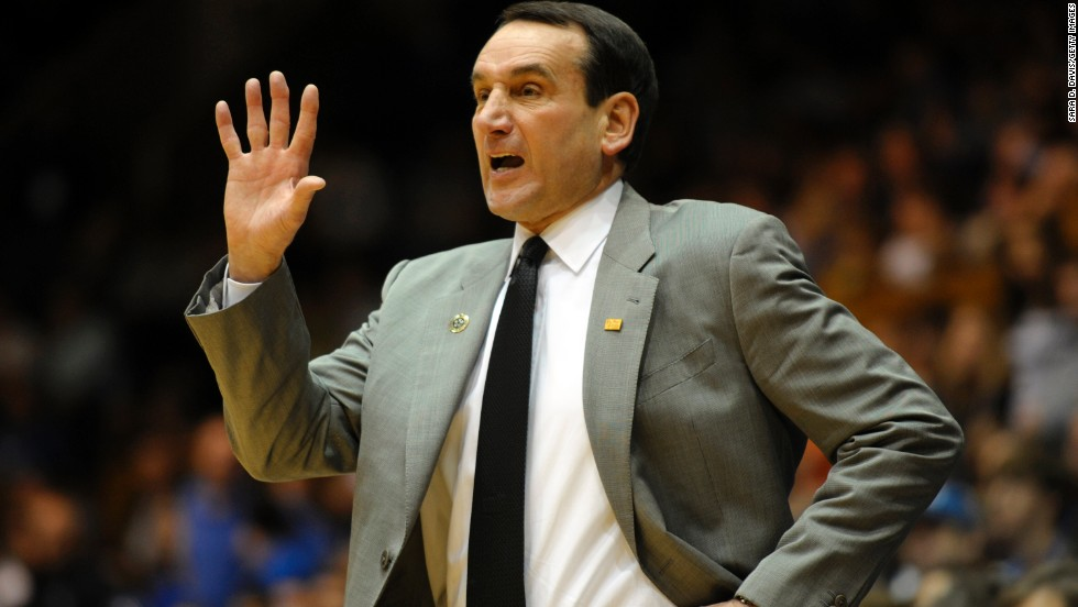 Mike Krzyzewski, also known as Coach K, has coached Duke University's men's basketball team since 1980, putting him in his 33rd season as head coach.