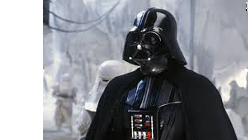 "David Prowse playing Darth Vader in the original ""Star Wars"" trilogy."