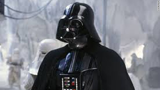 """David Prowse playing Darth Vader in the original """"Star Wars"""" trilogy."""