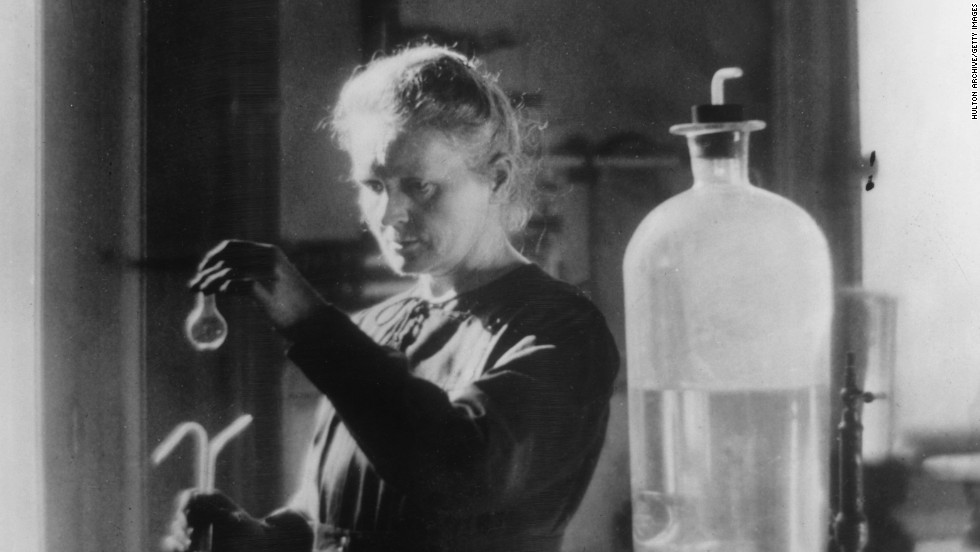 "Physicist <a href=""http://www.nobelprize.org/nobel_prizes/physics/articles/curie/"" target=""_blank"">Marie Curie</a> (1867-1934) won two Nobel prizes. Her observations of radiation suggested a relationship between radioactivity and the heavy elements of the Periodic Table. Curie's painstaking research with her husband, Pierre, culminated in the isolation of two new, heavy elements -- polonium, which they named for Marie's homeland Poland, and the naturally glowing radium. <a href=""http://www.ncbi.nlm.nih.gov/pmc/articles/PMC3093546/"" target=""_blank"">Radioactivity has led to many advances in medicine</a>."