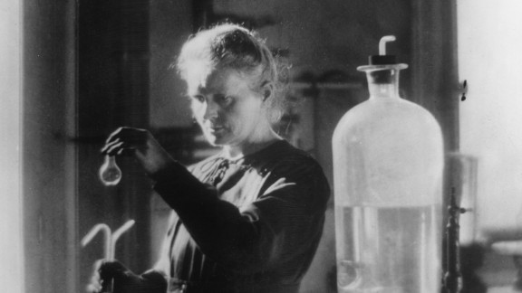 Polish-born French physicist Marie Curie (1867-1934) discovered polonium and radium. Her work led to the creation of X-rays -- a crucial component of modern-day medicine. She was the first woman to win a Nobel Prize and the only woman to win this award in two categories: Physics and Chemistry.