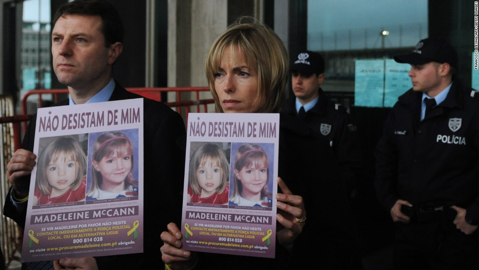 Madeleine McCann was a few days shy of her 4th birthday when she disappeared during a 2007 family vacation in Portugal.  Despite a huge police investigation and massive media coverage, she remains missing.