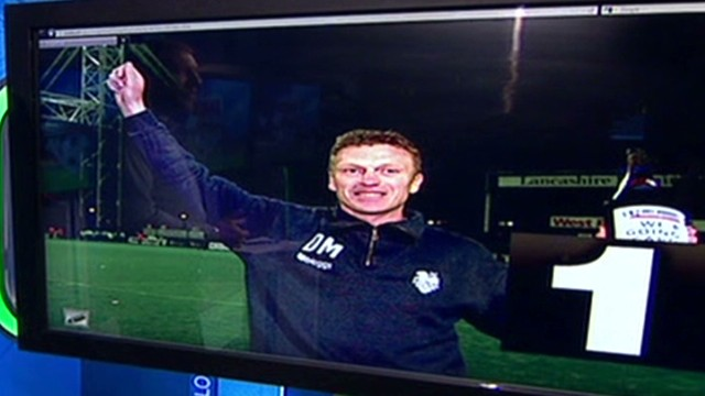 Moyes named manager of Manchester United
