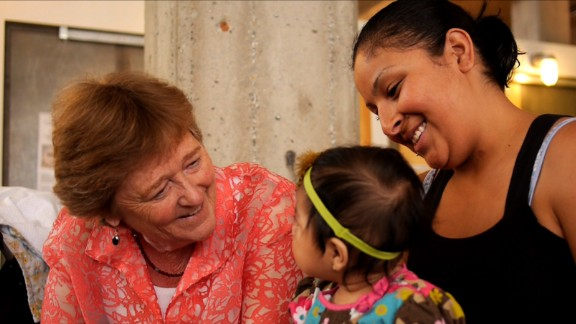Martha Ryan, left, has helped more than 80,000 families since she started her program more than 20 years ago.