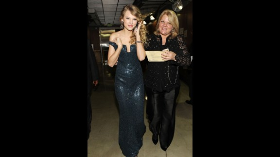 Taylor Swift's mother, Andrea Swift.