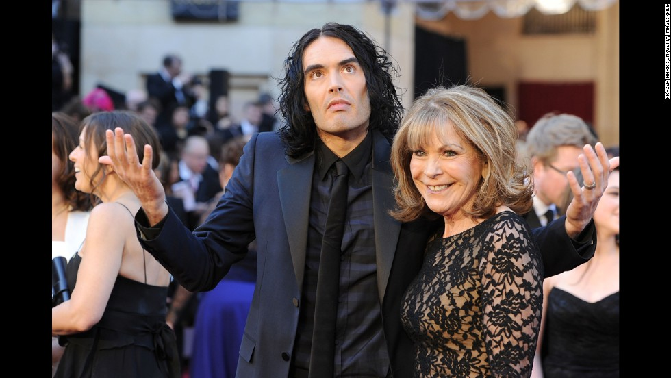 Russell Brand's mother, Juliet Elizabeth Brand.
