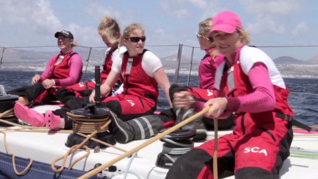 How female sailors take on men