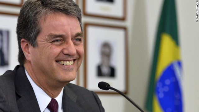WTO picks Brazilian as new chief