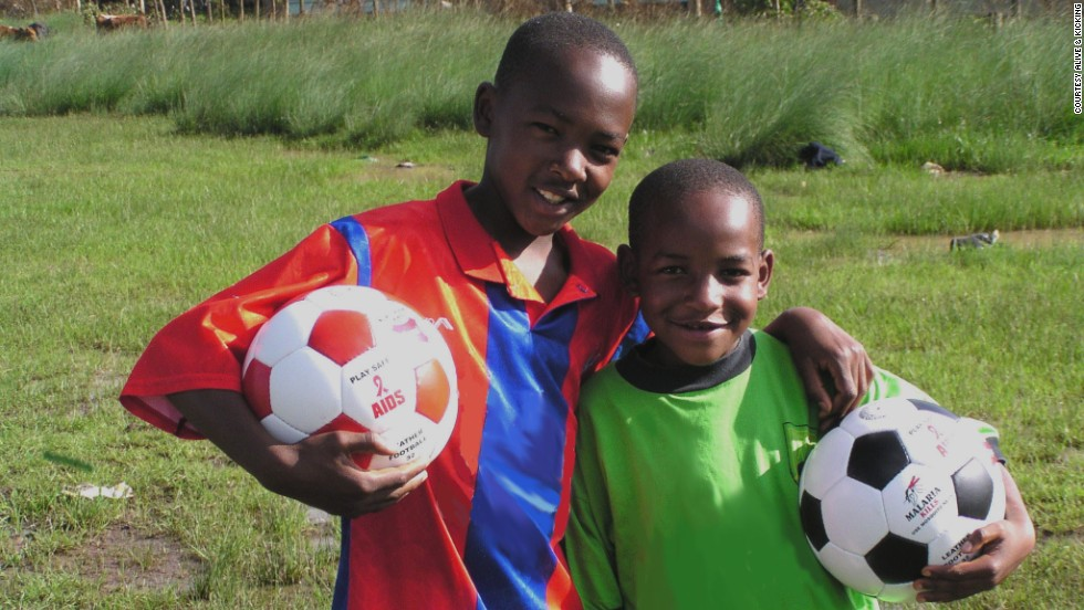 Alive & Kicking is a social enterprise manufacturing sport balls in Kenya, Zambia and Ghana. Its goal is to create jobs, provide children with balls and help raise health awareness about preventable diseases.