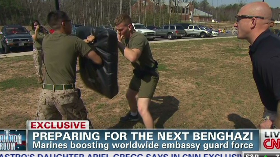 marines train for expanded embassy guard program cnn