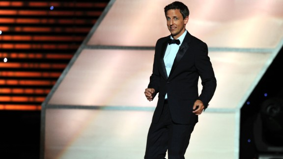 Meyers hosts the 2011 ESPY Awards on July 13, 2011, in Los Angeles.