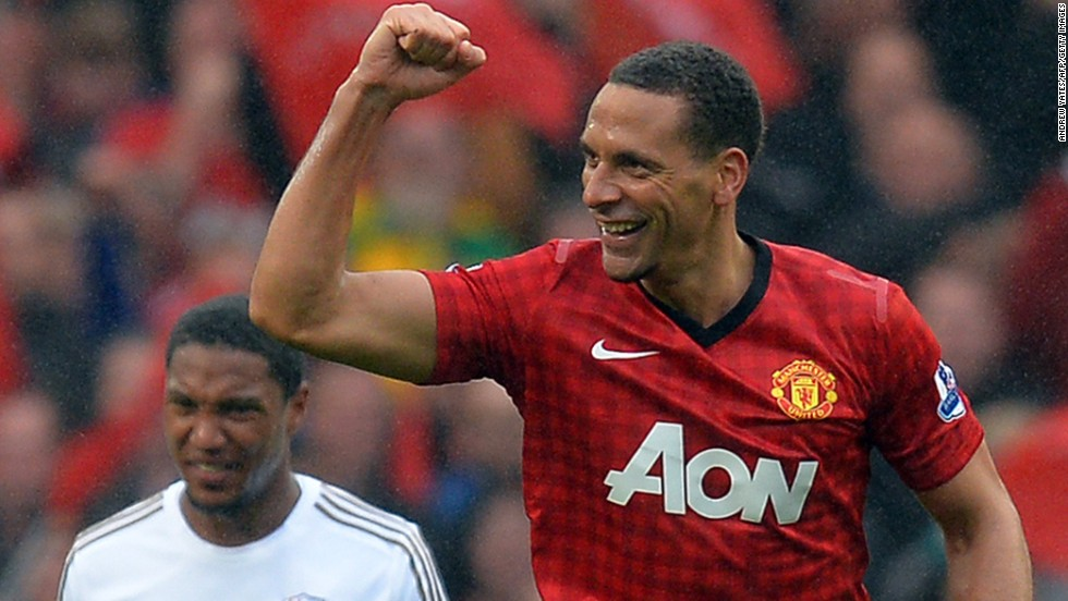 United's late winner was scored by veteran Rio Ferdinand, who Ferguson signed as the most expensive defender in British football history in 2002.