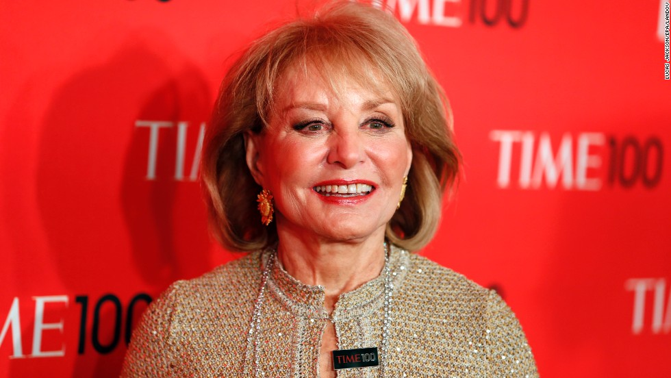 Longtime TV journalist Barbara Walters was born in Boston. After five decades in broadcast news, Walters has no shortage of major accomplishments to be proud of, including being the first network evening news anchorwoman when she moved to ABC in 1976. She announced that she would be retiring from television in 2014.