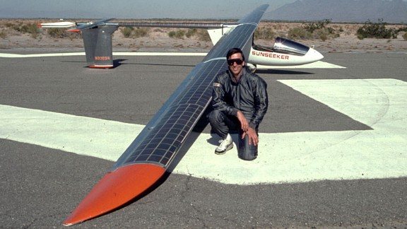 In 1990, Eric Raymond's Sunseeker I became the first solar-powered aircraft to cross the United States. He completed the journey in 21 segments.