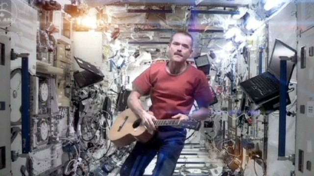 Chris hadfield ground control